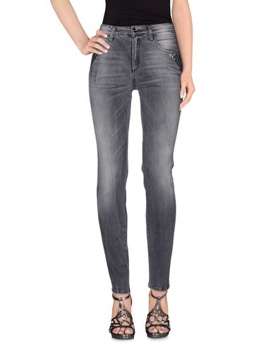 Фото - Джинсовые брюки от BLUGIRL JEANS серого цвета