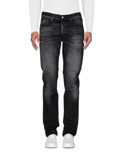 Фото - Джинсовые брюки от COVERT серого цвета