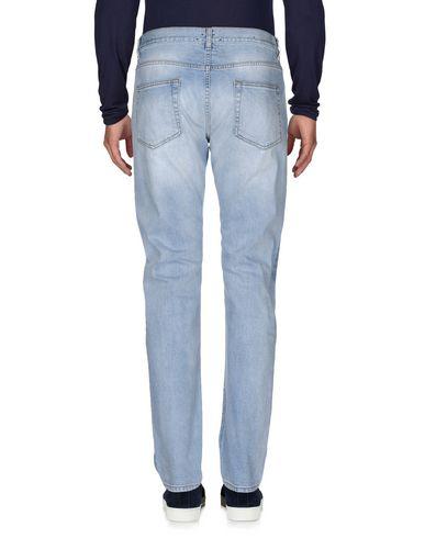 Фото 2 - Джинсовые брюки от COVERT синего цвета