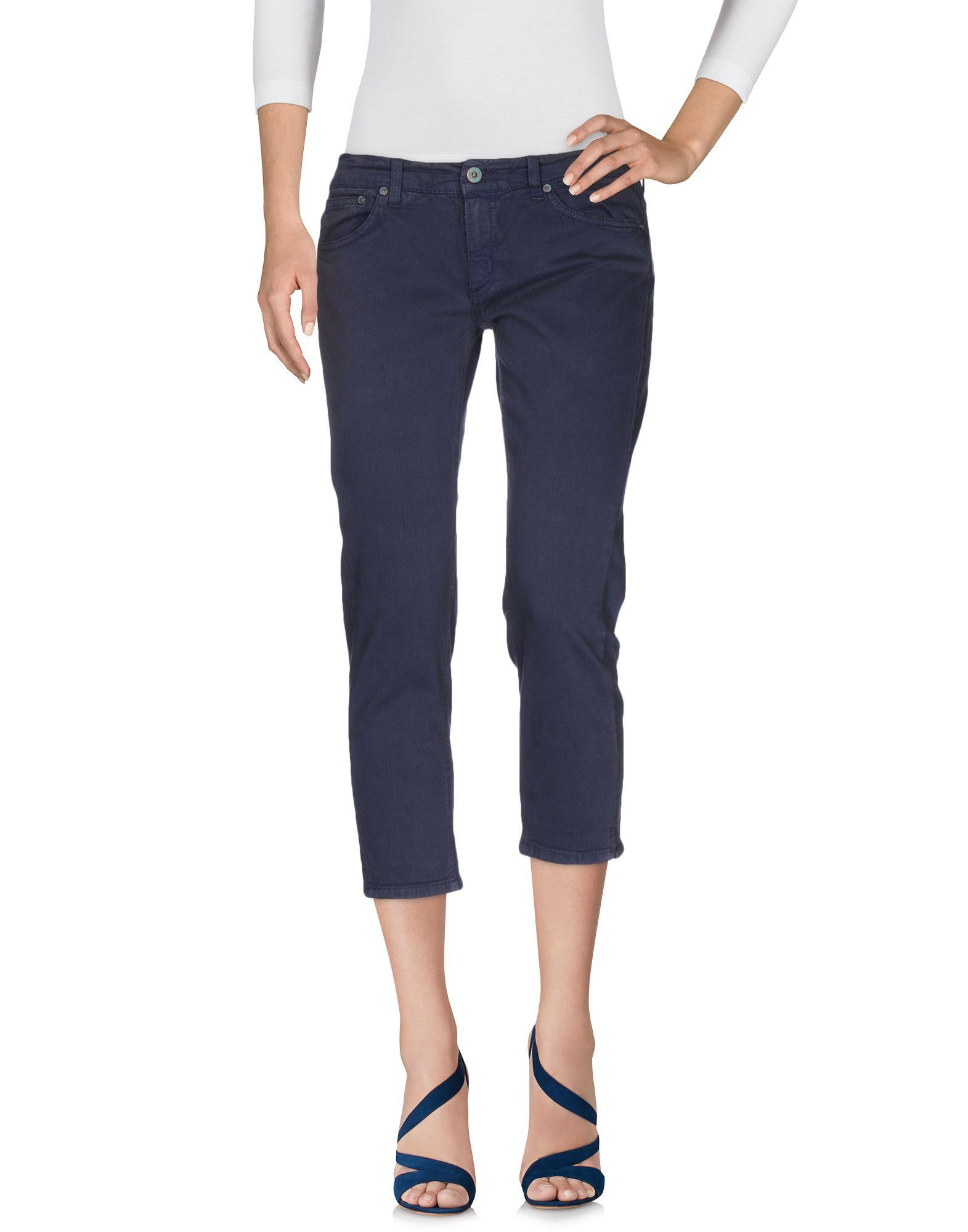 DONDUP STANDART Джинсовые брюки-капри цена 2017