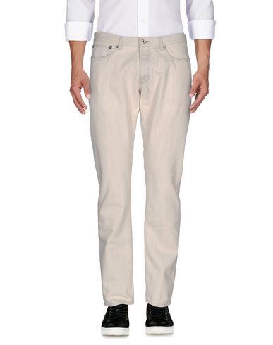 Фото - Джинсовые брюки цвет слоновая кость