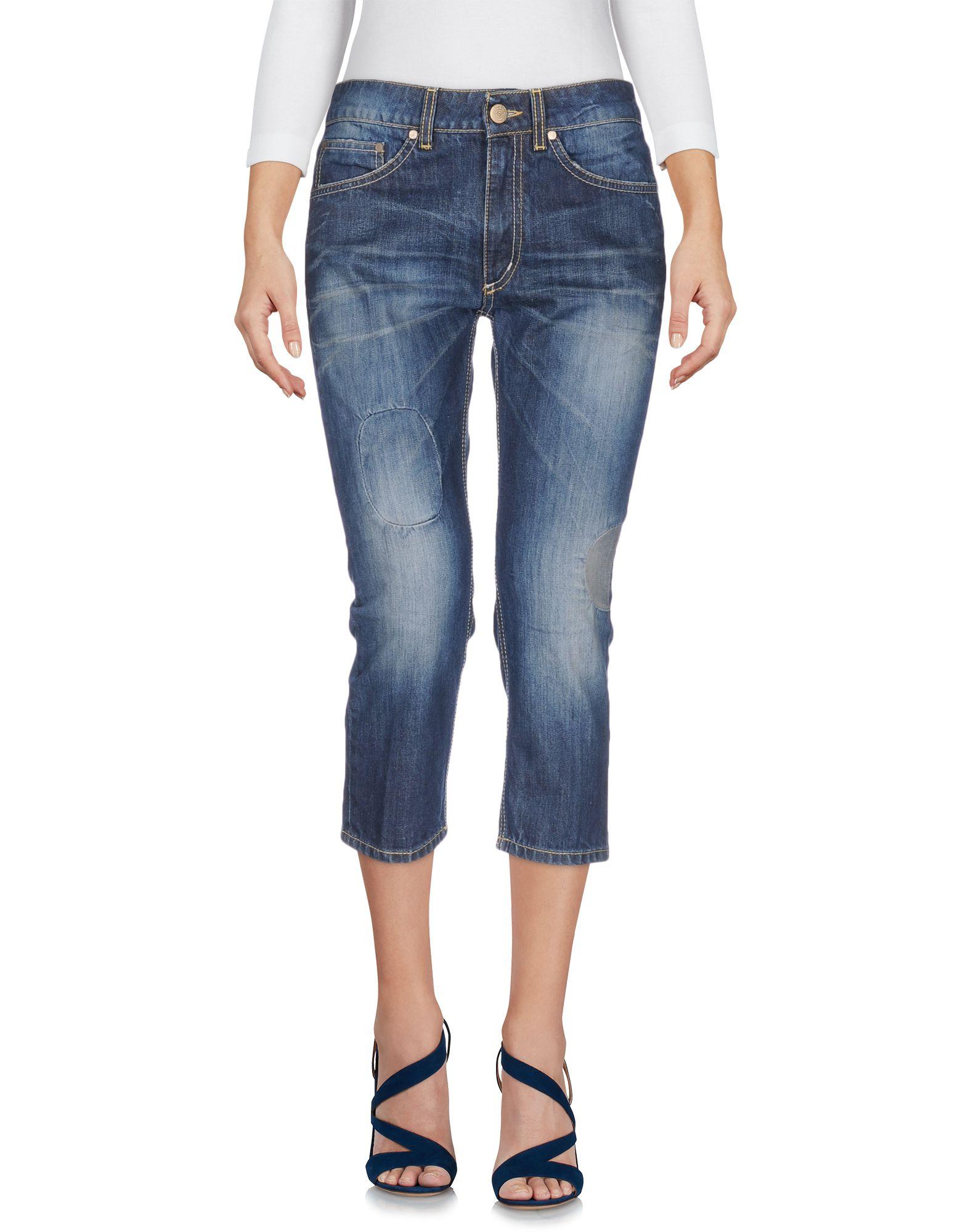 DONDUP Джинсовые брюки-капри капри dondup капри