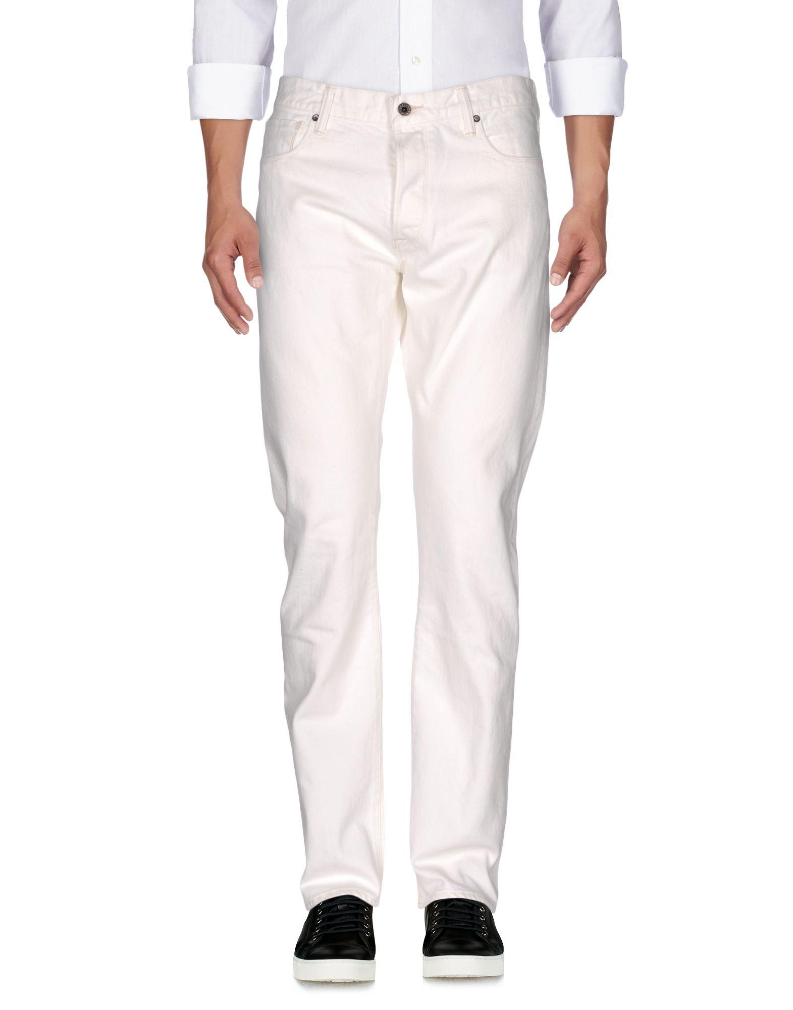KURO Denim Pants in Ivory