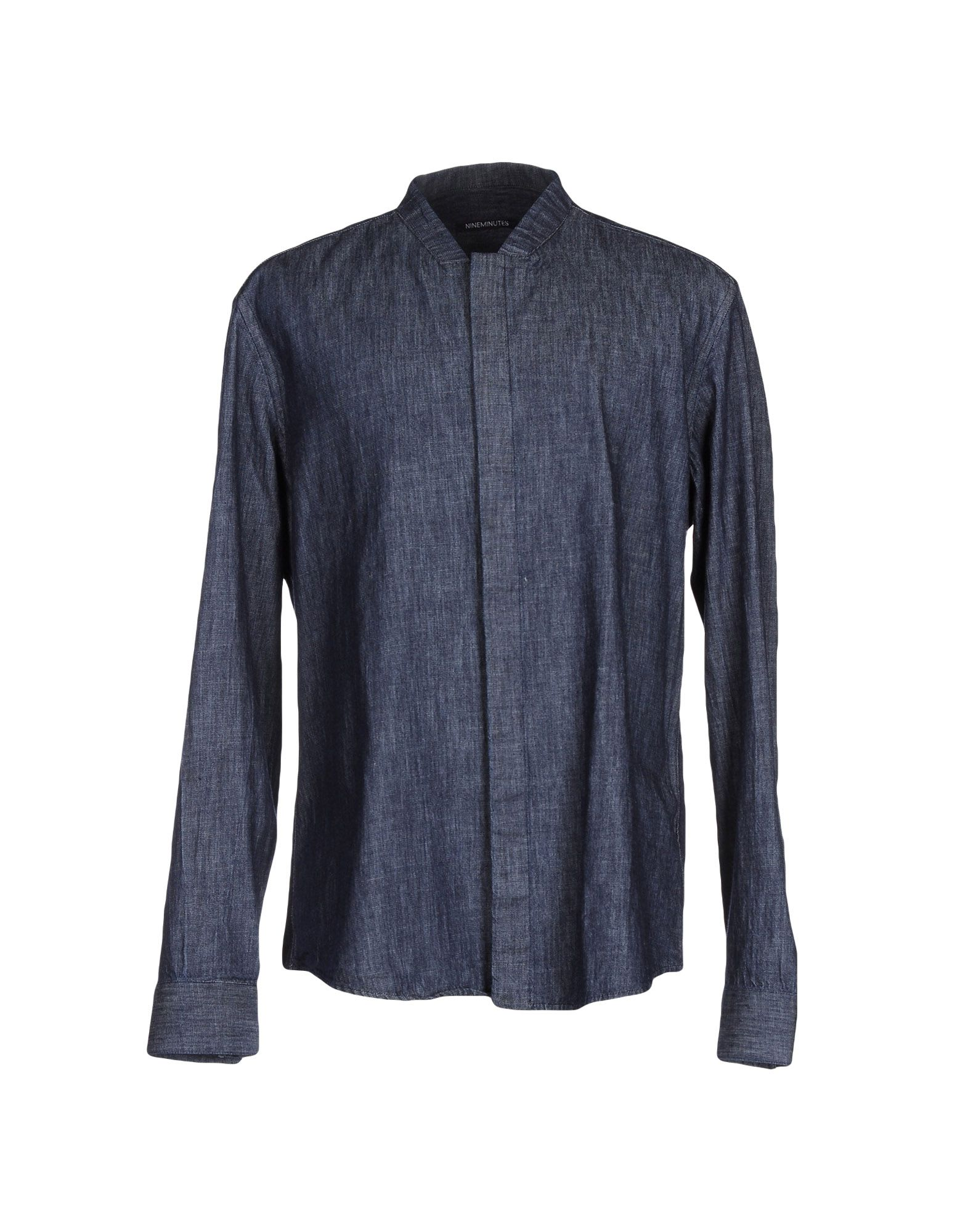 NINEMINUTES Джинсовая рубашка nineminutes джинсовая юбка