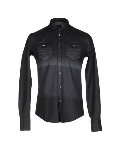 Джинсовая рубашка AGLINI 42520642OM