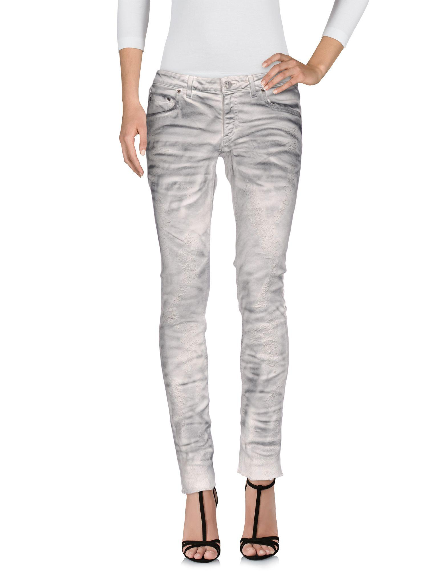 FAGASSENT Denim Pants in Light Grey