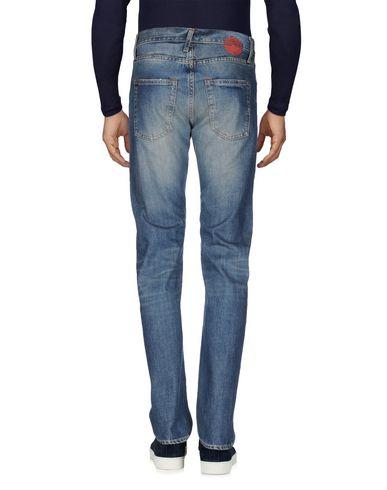 Фото 2 - Джинсовые брюки от MISTER TAILOR синего цвета