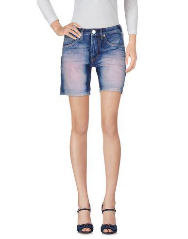 Pantaloni bermuda Blu donna TRUE RELIGION Bermuda jeans donna