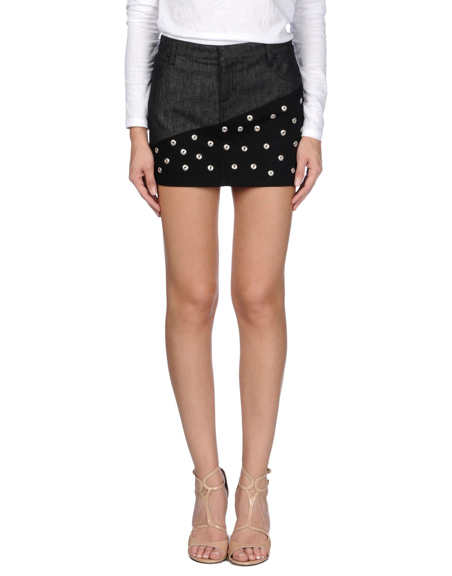 EMANUEL UNGARO Джинсовая юбка цены онлайн