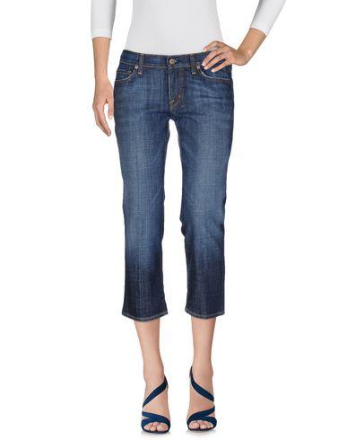 Фото - Джинсовые брюки-капри от H BY JEROME DAHAN синего цвета