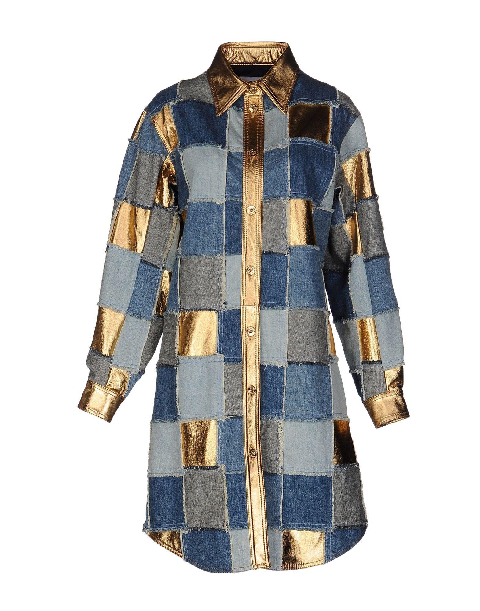 MOSCHINO Джинсовая верхняя одежда