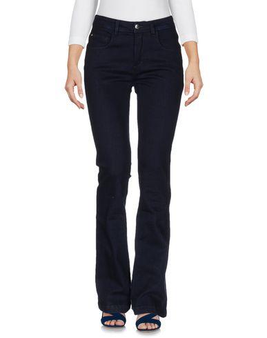 Фото - Джинсовые брюки от BLUE LES COPAINS синего цвета
