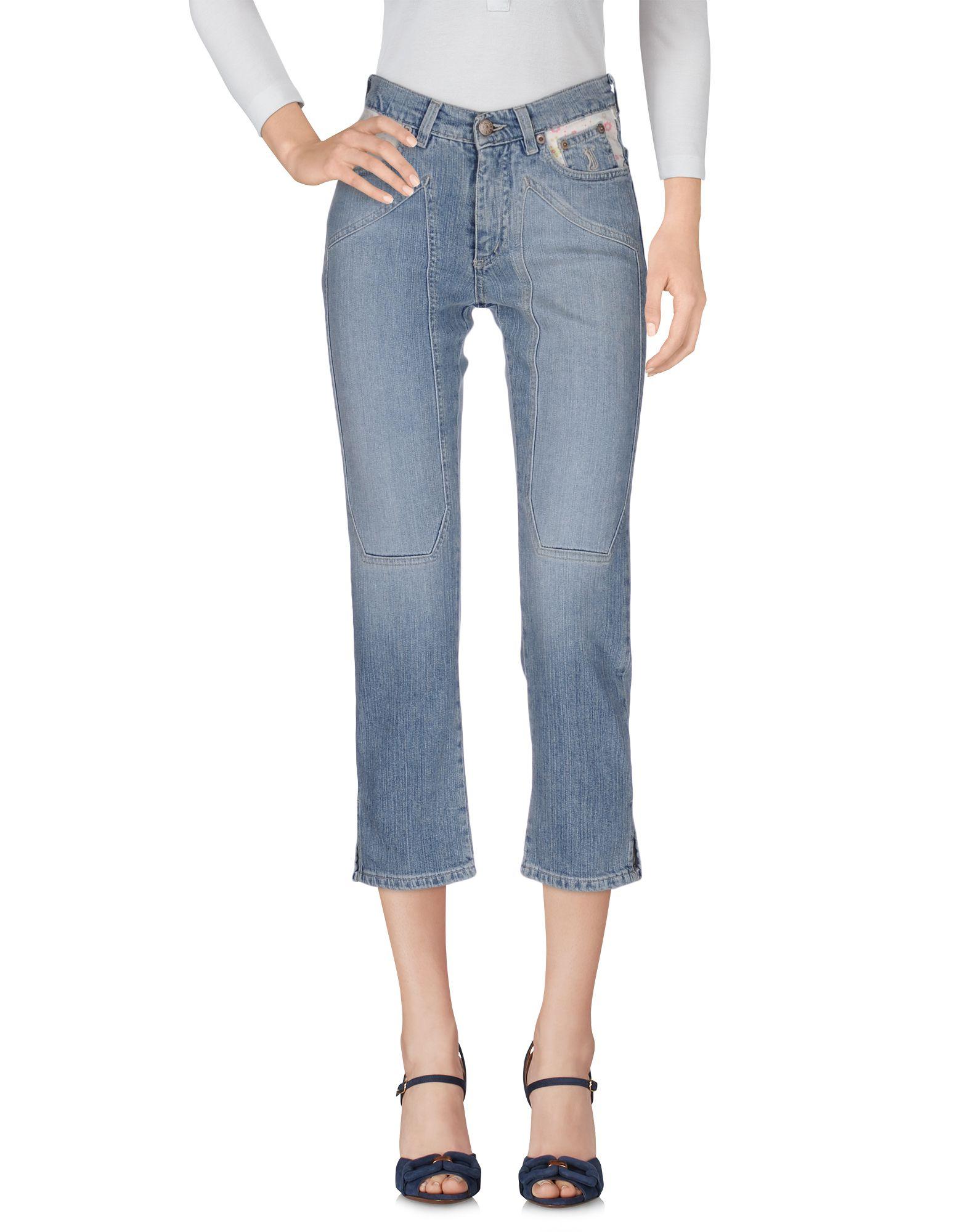 JECKERSON Джинсовые брюки-капри