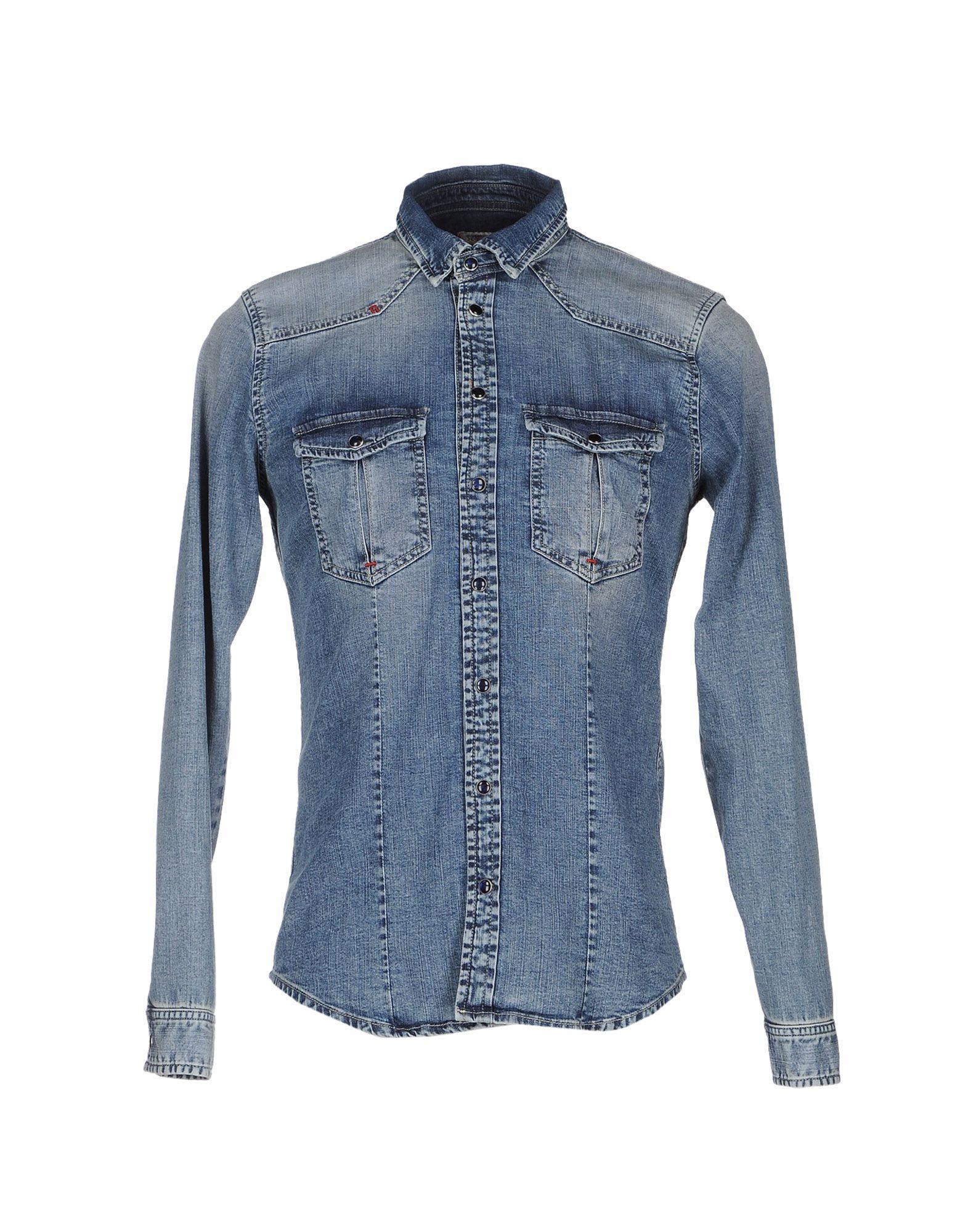 X-CAPE Джинсовая рубашка скальп петуха veniard chinese cock cape