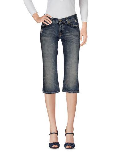 Джинсовые брюки-капри 7 FOR ALL MANKIND 42529822KK