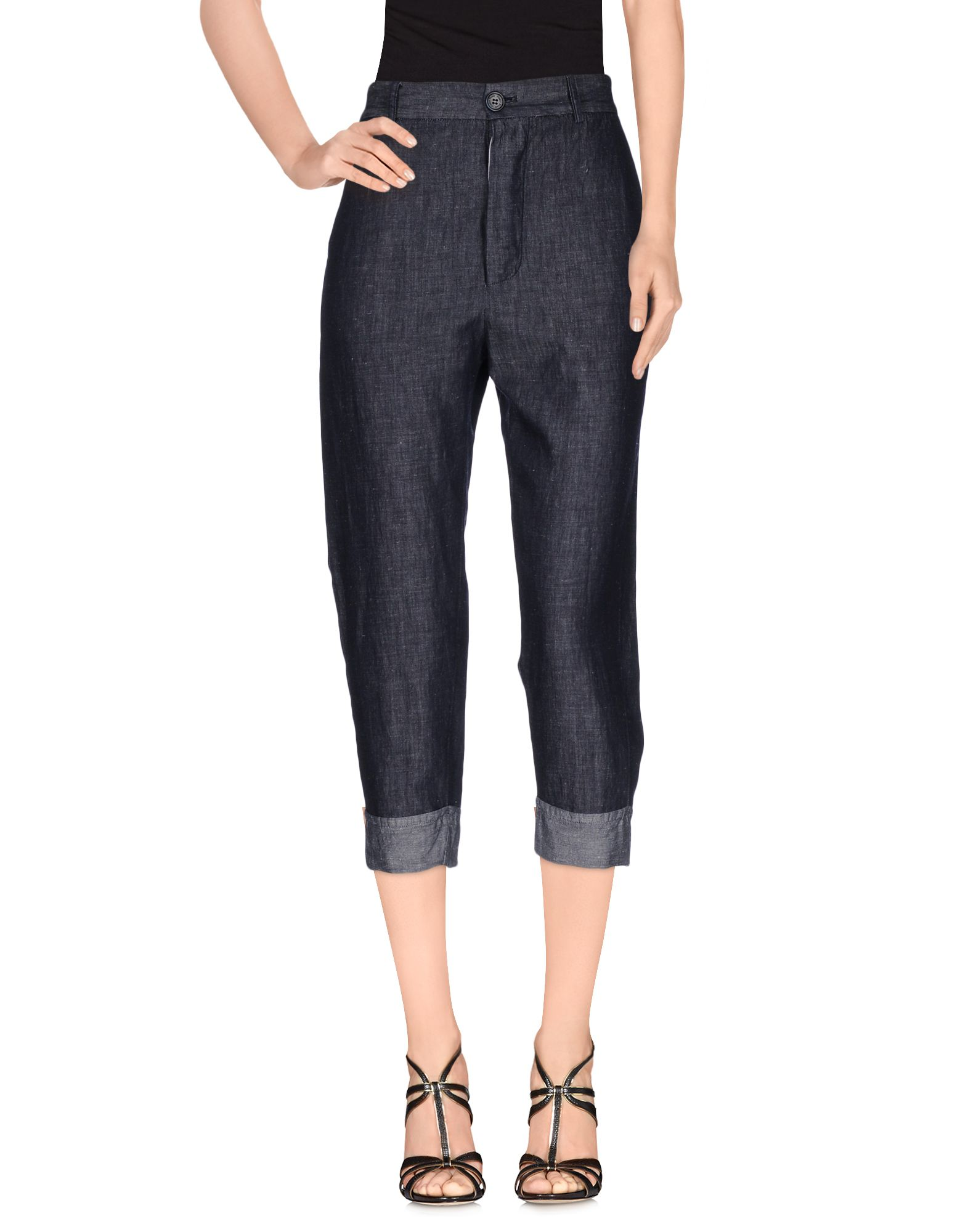 ADELE FADO Джинсовые брюки-капри цена 2017