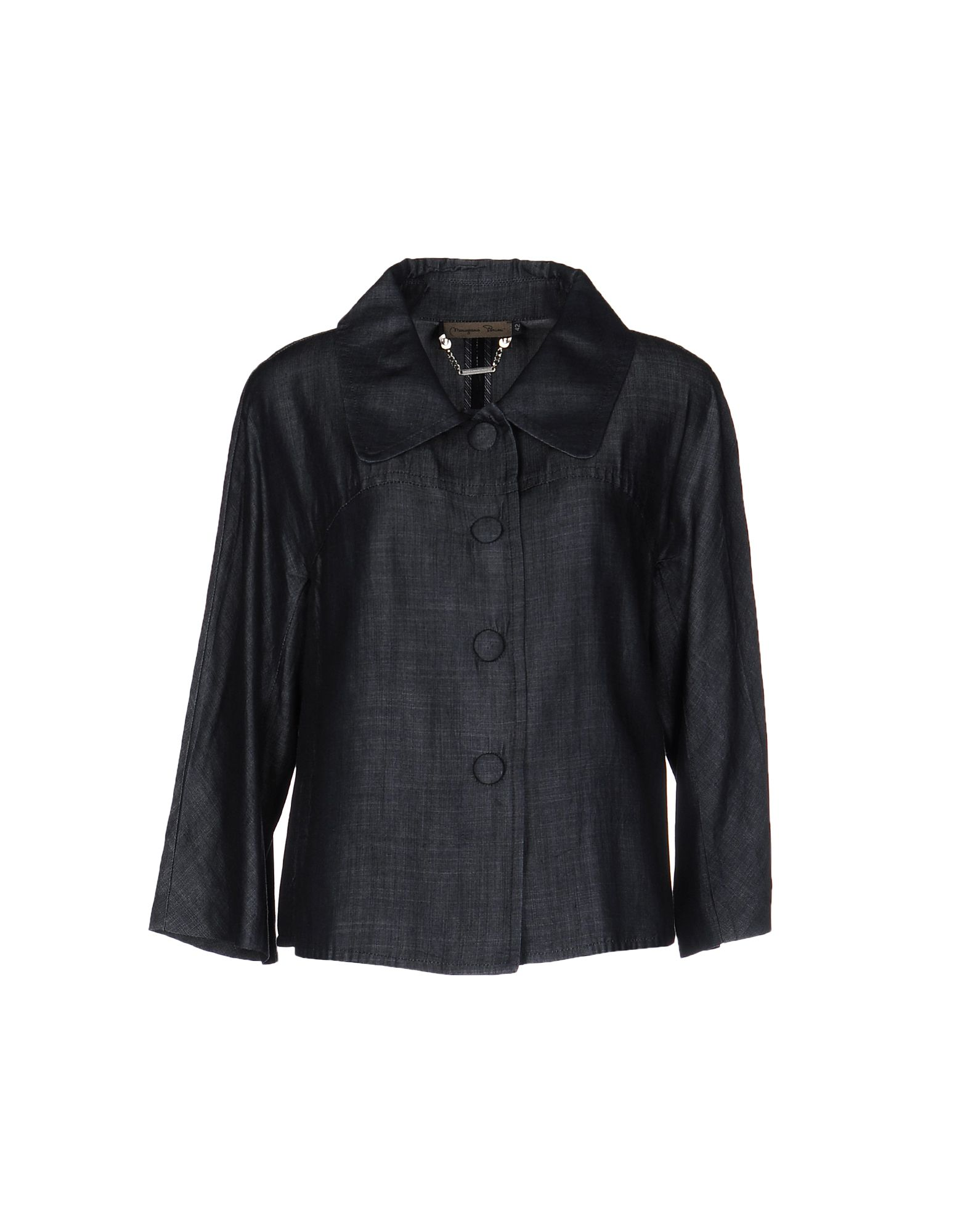MARIAGRAZIA PANIZZI Джинсовая верхняя одежда kengstar джинсовая верхняя одежда