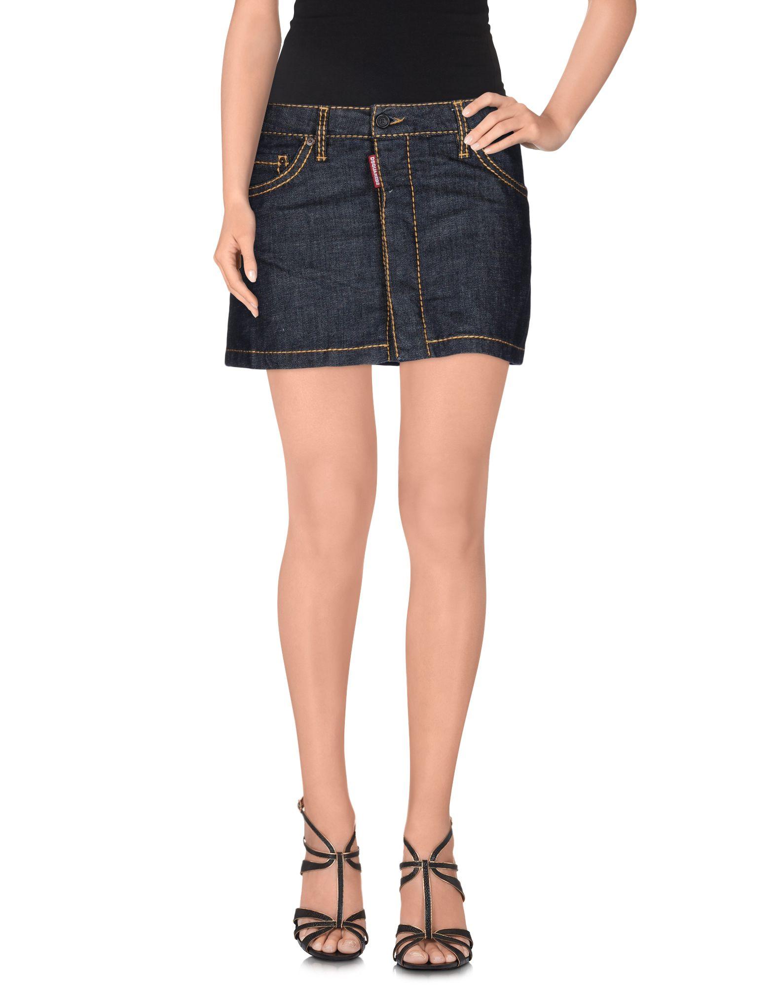 DSQUARED2 Джинсовая юбка юбка джинсовая marks