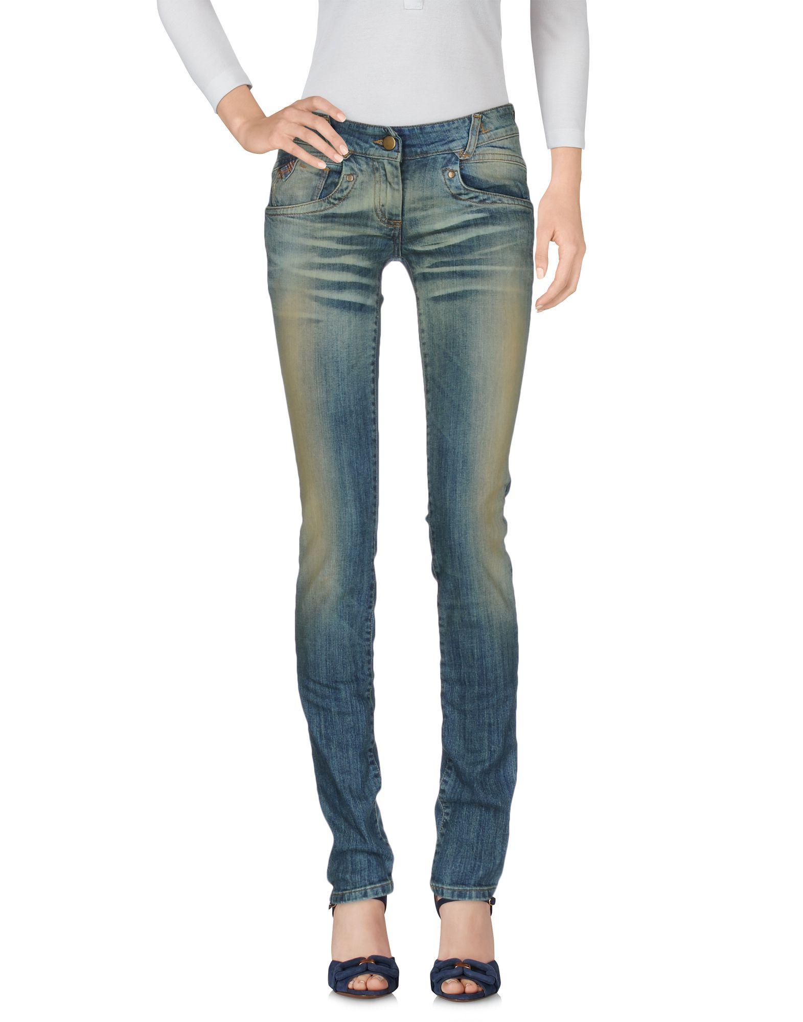 цена на DEAN JUSTER Джинсовые брюки