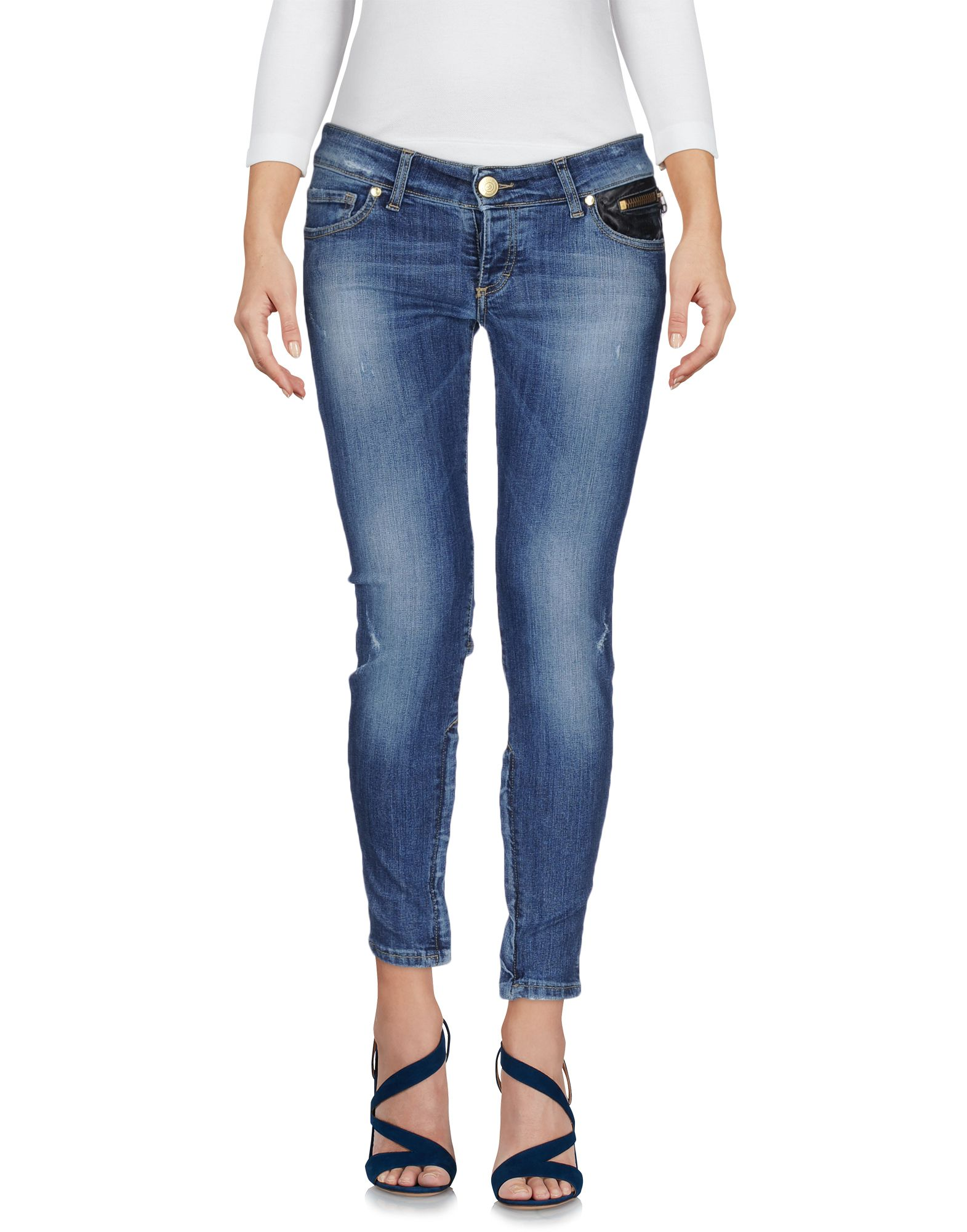 цена  HANNY DEEP Джинсовые брюки  онлайн в 2017 году
