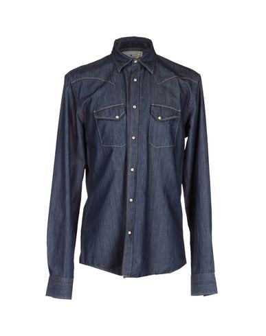 Foto MACCHIA J Camicia jeans uomo Camicie jeans