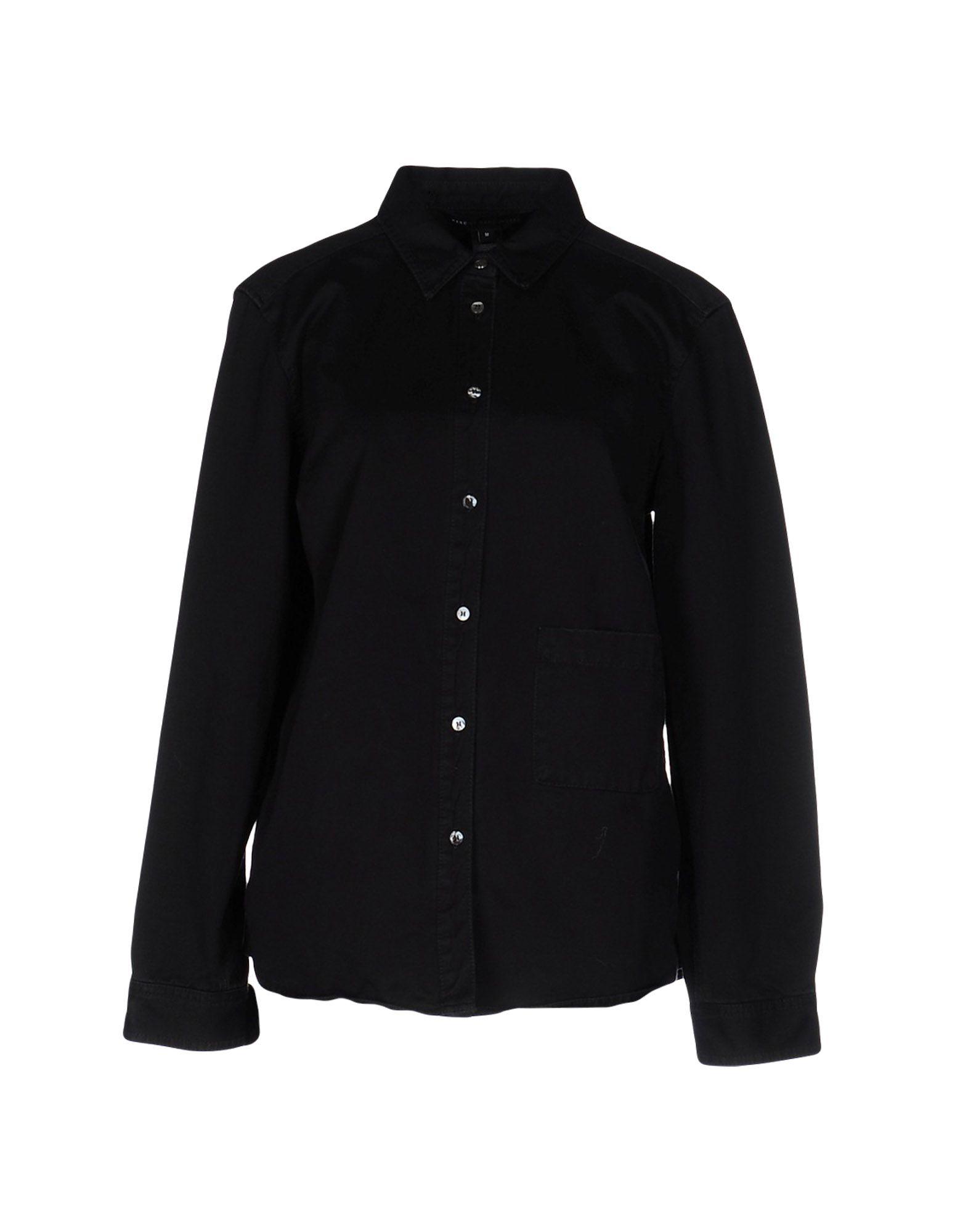 MARC BY MARC JACOBS Джинсовая рубашка marc cain блузка