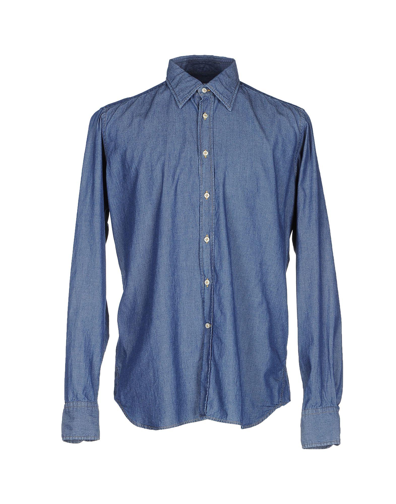 BEVILACQUA Джинсовая рубашка bevilacqua pубашка