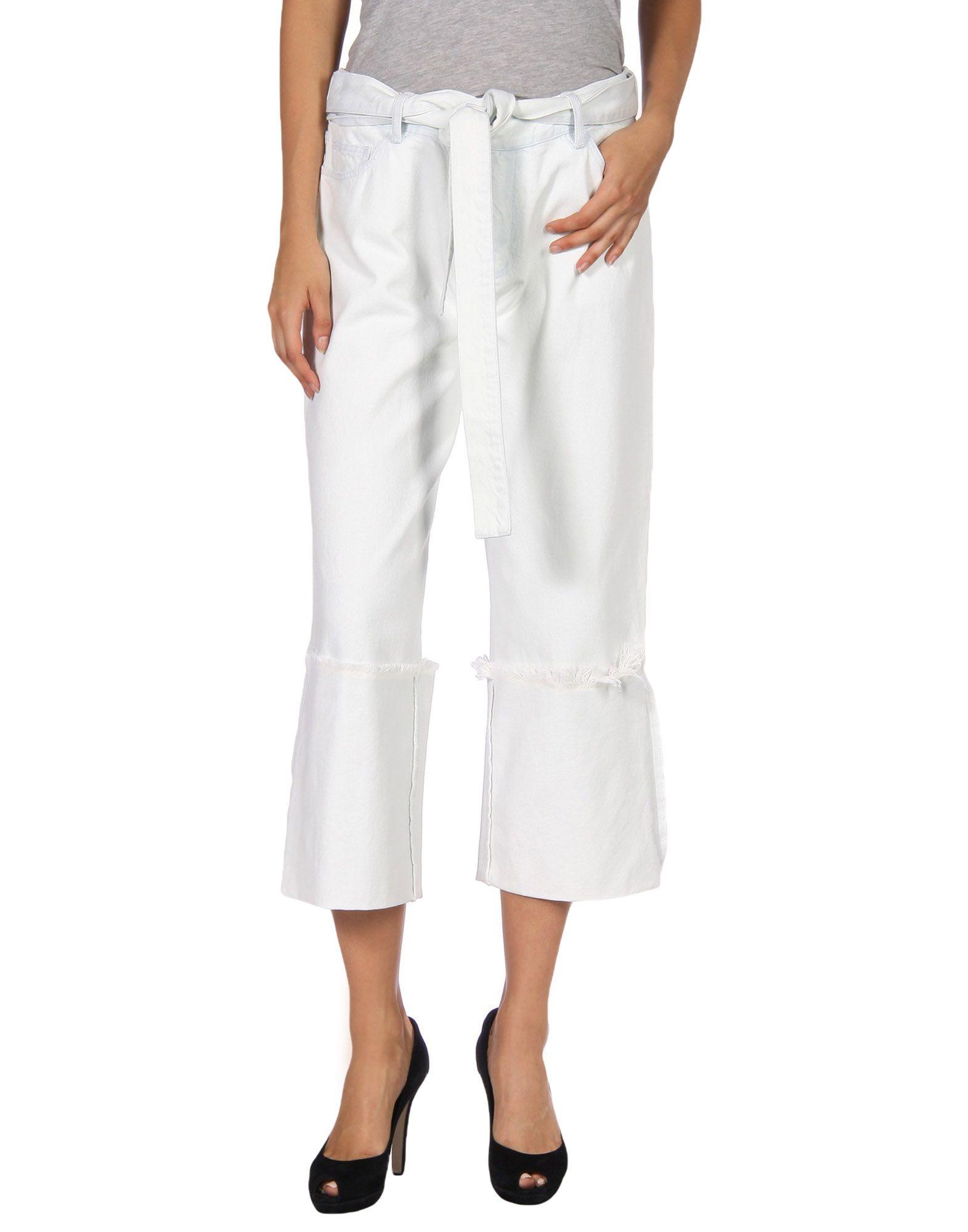 MARQUES' ALMEIDA Джинсовые брюки marques almeida накидка