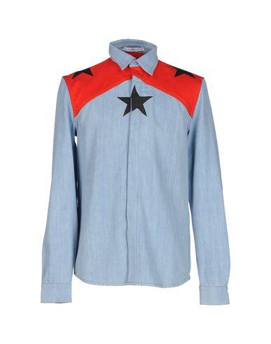 Джинсовая рубашка GIVENCHY 42536165GM