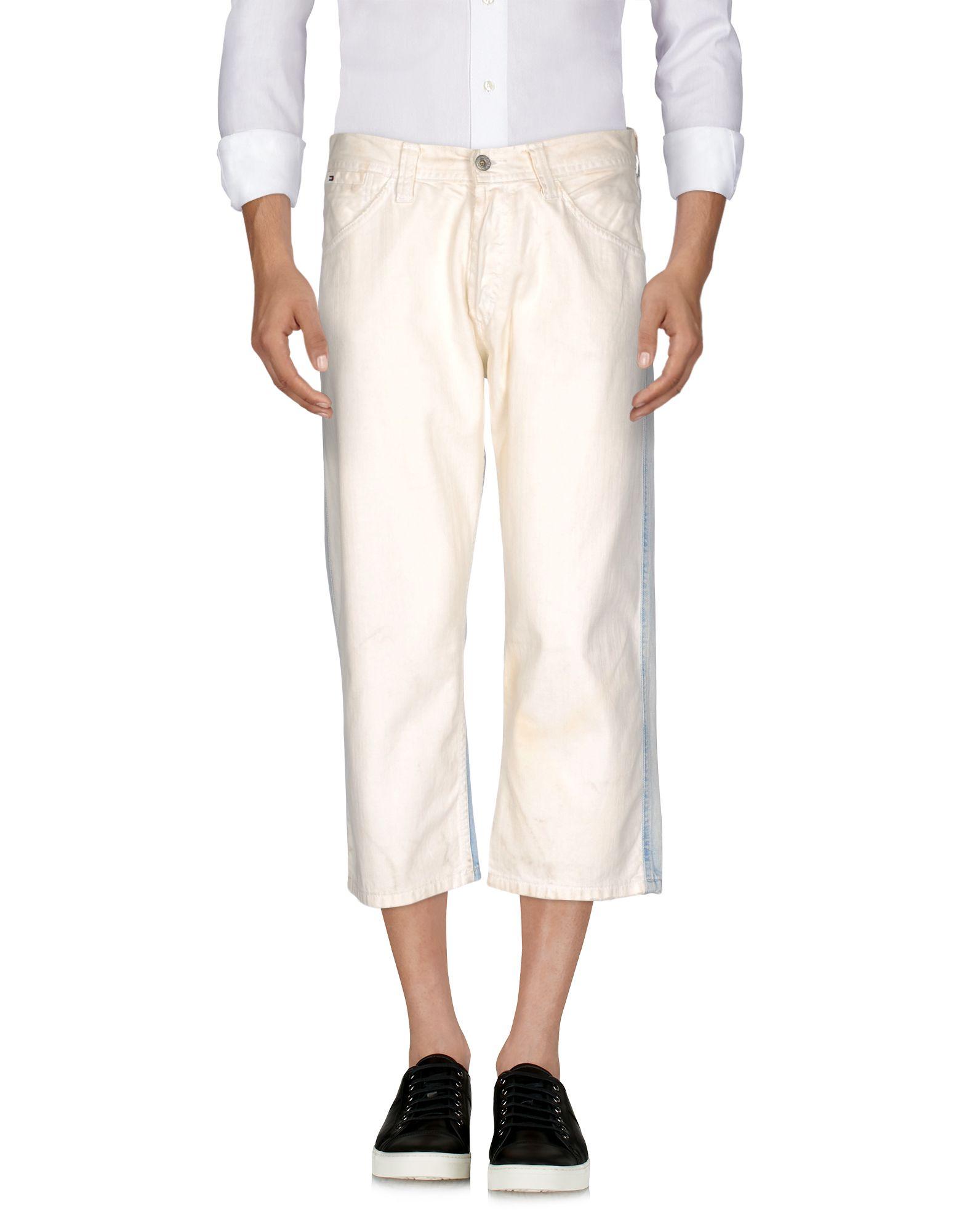 TOMMY HILFIGER DENIM Джинсовые брюки-капри футболка tommy hilfiger denim tommy hilfiger denim to013ewtpb98