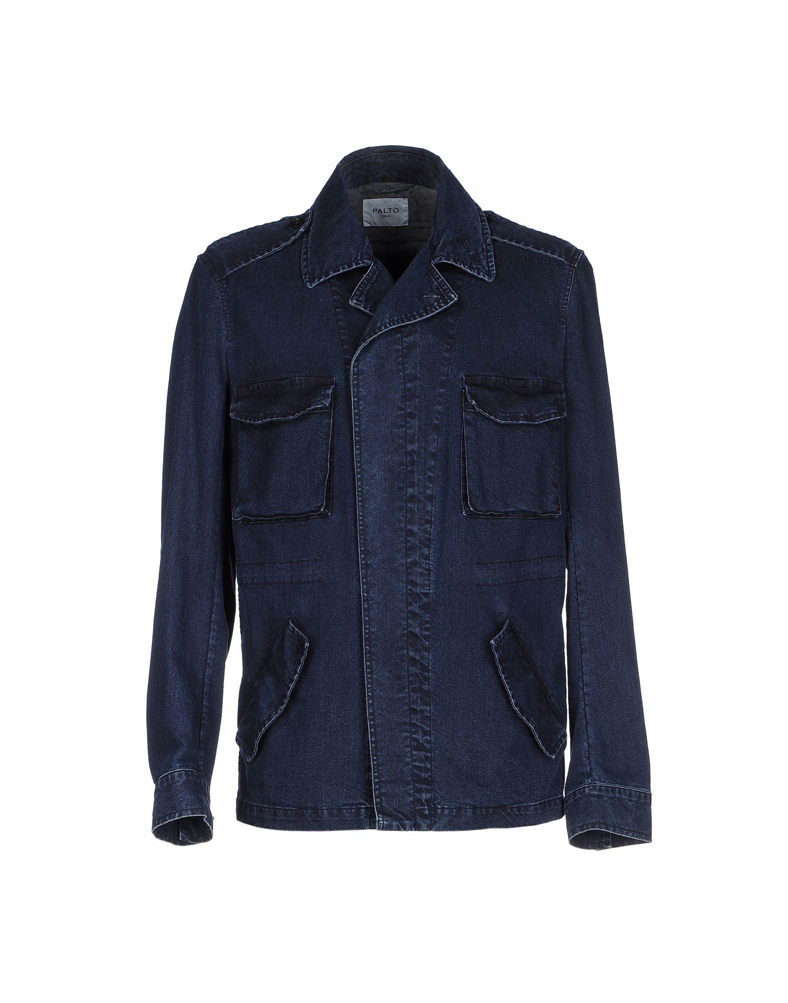 PALTÒ Джинсовая верхняя одежда topshop unique джинсовая верхняя одежда