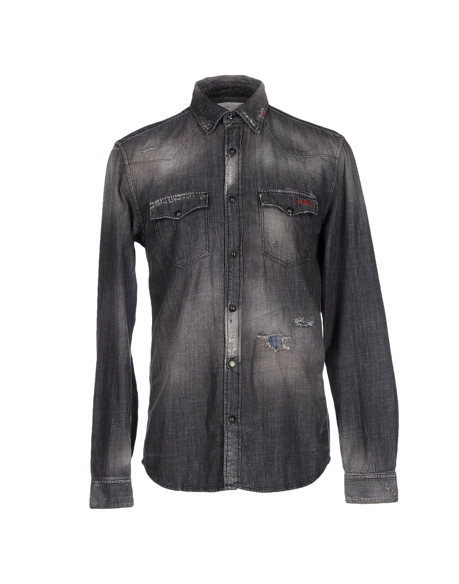 R.D.D. ROYAL DENIM DIVISION BY JACK & JONES Джинсовая рубашка рубашка джинсовая jack