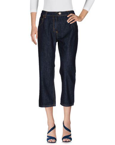 Джинсовые брюки-капри BLUMARINE 42537511UB