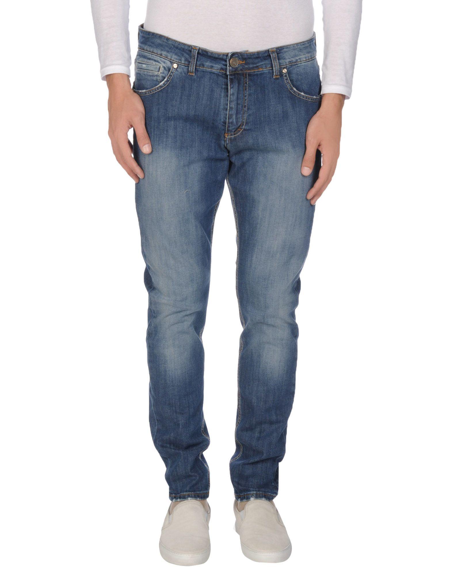 цена EREDI DEL DUCA Джинсовые брюки онлайн в 2017 году