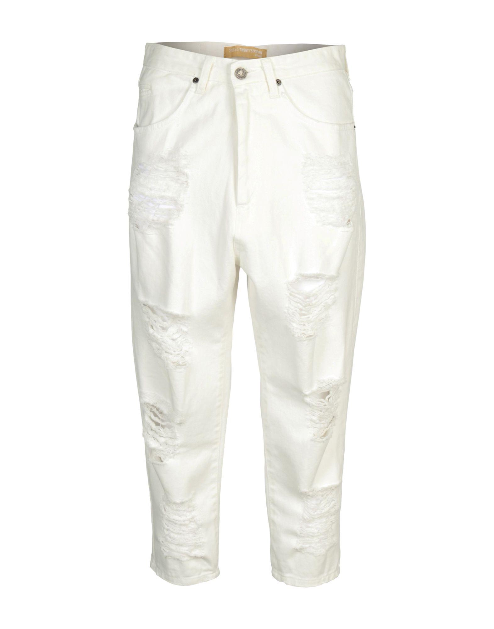 26.7 TWENTYSIXSEVEN Джинсовые брюки