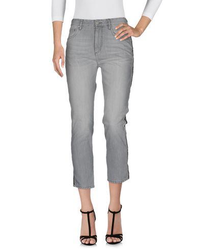 Купить Джинсовые брюки от ISABEL MARANT ÉTOILE серого цвета