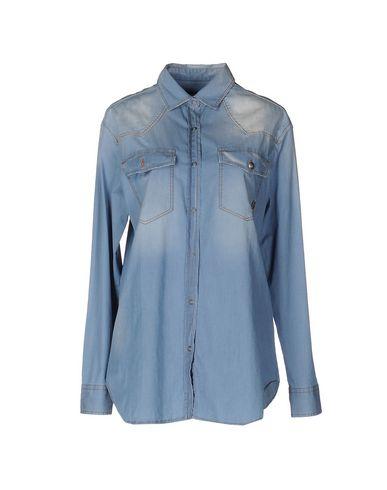 Джинсовая рубашка PIERRE BALMAIN 42538418KG