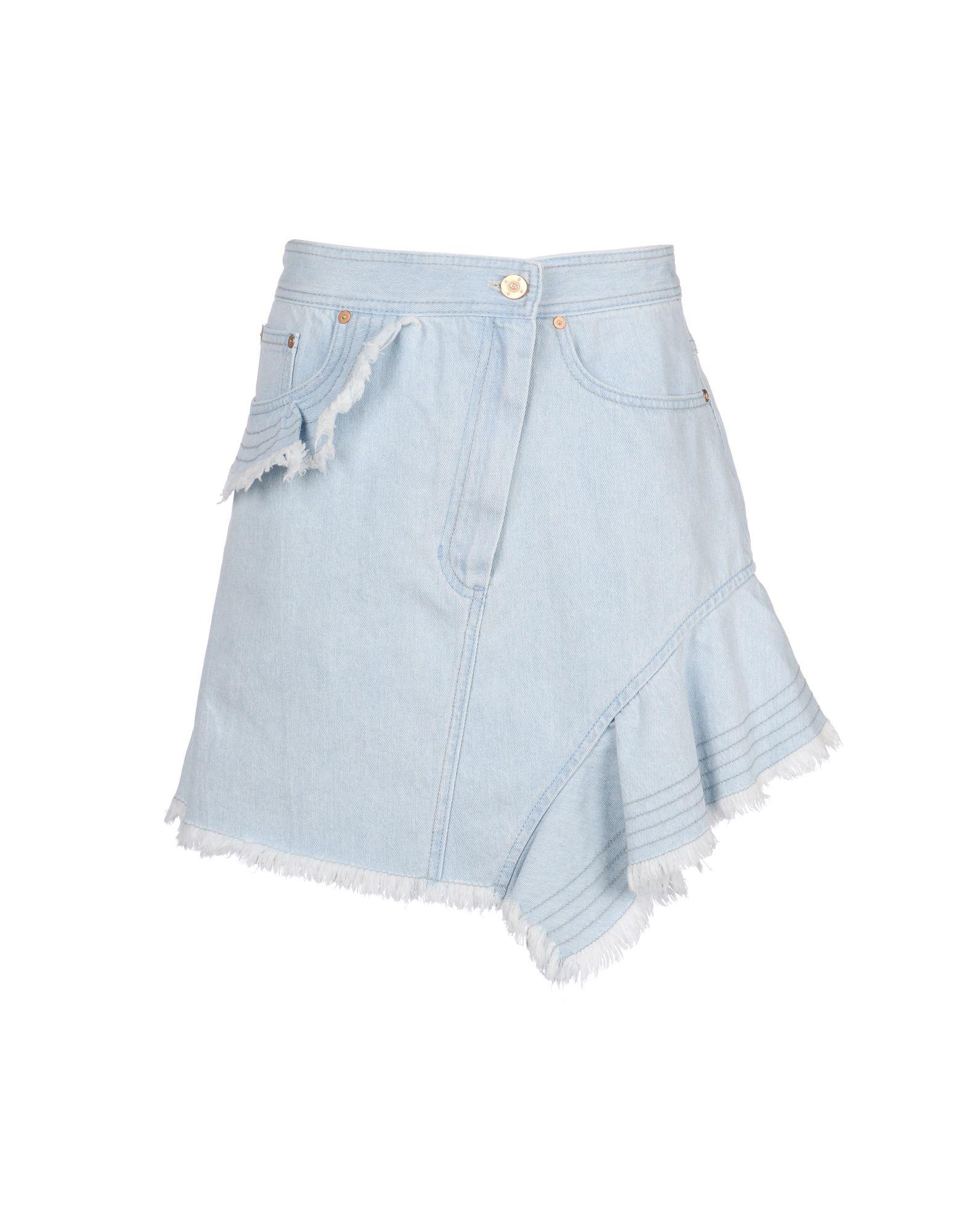LUCKY CHOUETTE Джинсовая юбка lucky chouette брючный комбинезон