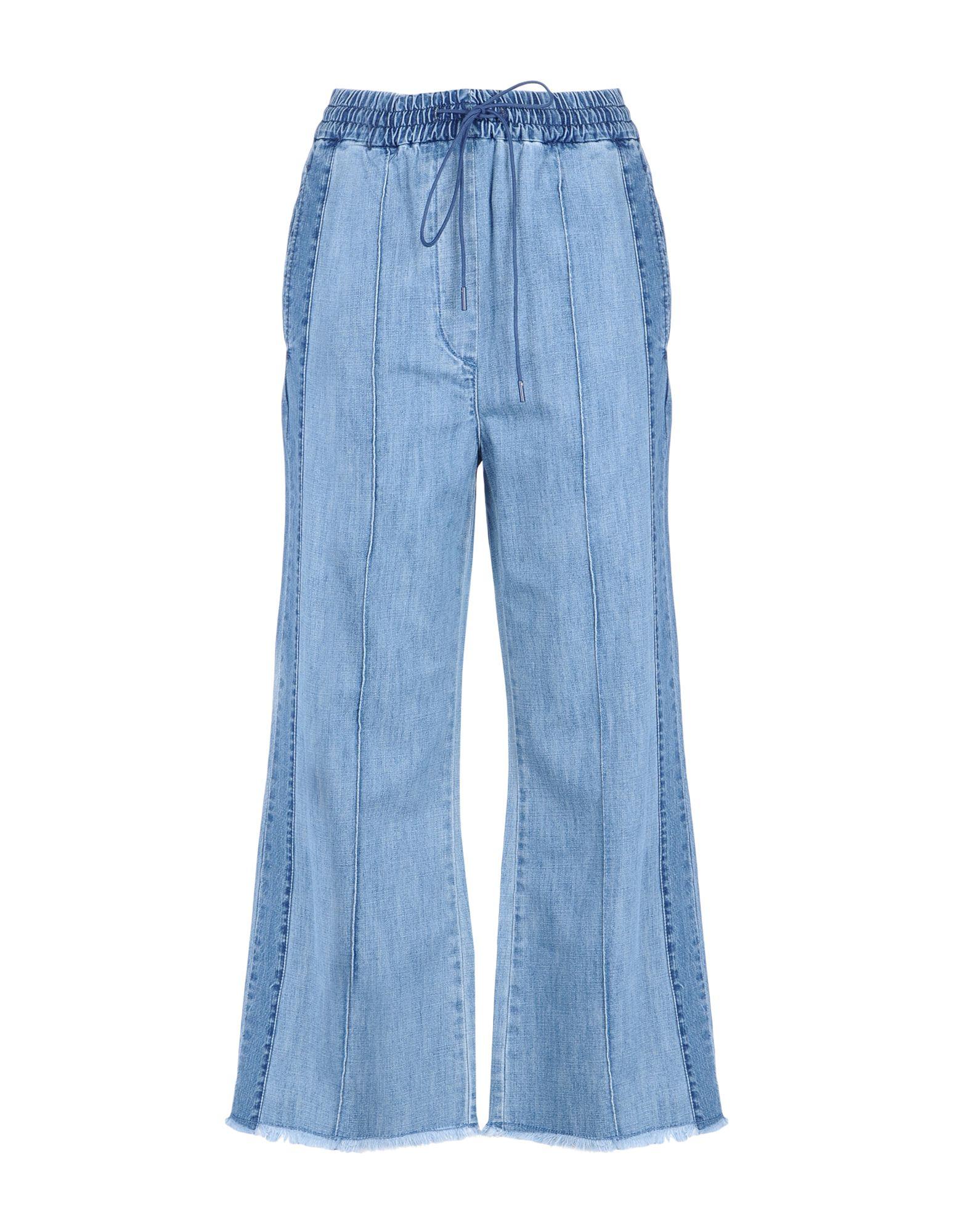 《送料無料》LUCKY CHOUETTE レディース ジーンズ ブルー 36 コットン 100%