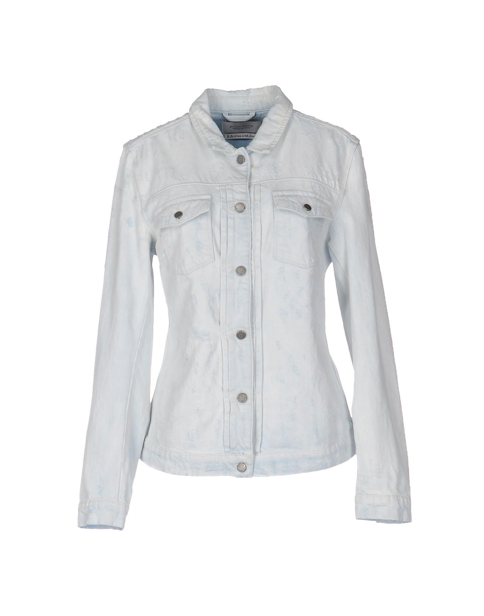 где купить MAISON SCOTCH Джинсовая верхняя одежда по лучшей цене