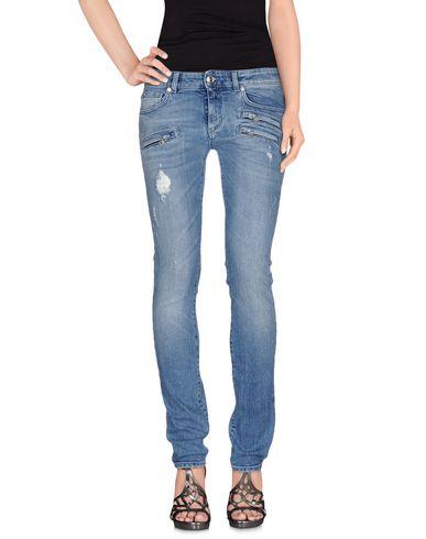 Джинсовые брюки PIERRE BALMAIN 42540004WG