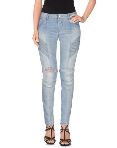 Джинсовые брюки PIERRE BALMAIN 42540016FH