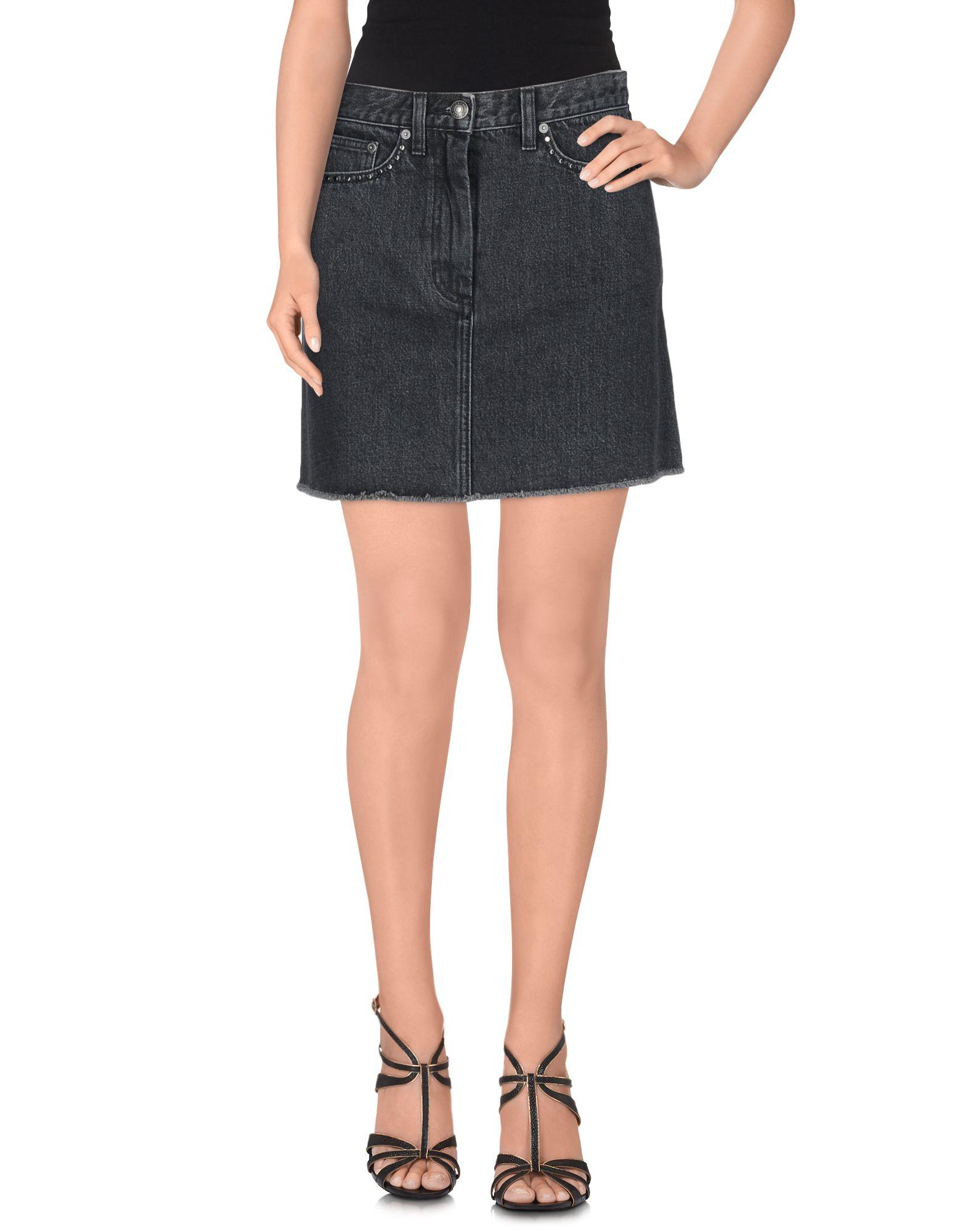 MARC BY MARC JACOBS Джинсовая юбка marc by marc jacobs юбка с контрастной отделкой