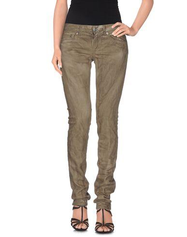 Фото - Джинсовые брюки цвета хаки