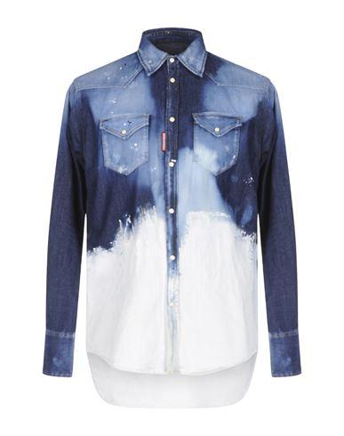 Джинсовая рубашка DSQUARED2 42541169JO