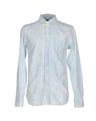 Джинсовая рубашка OBEY 42542506FI