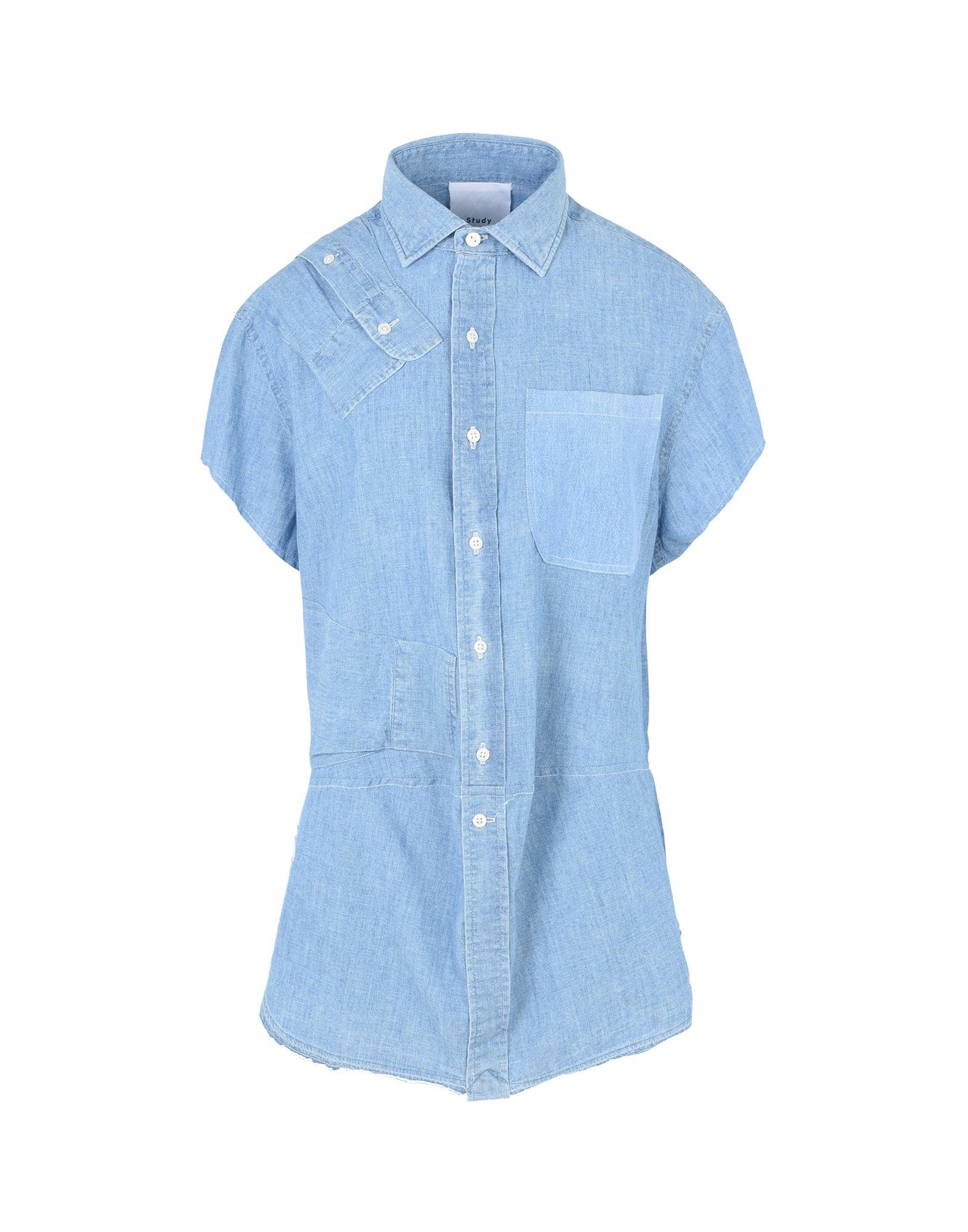 STUDY New York Джинсовая рубашка