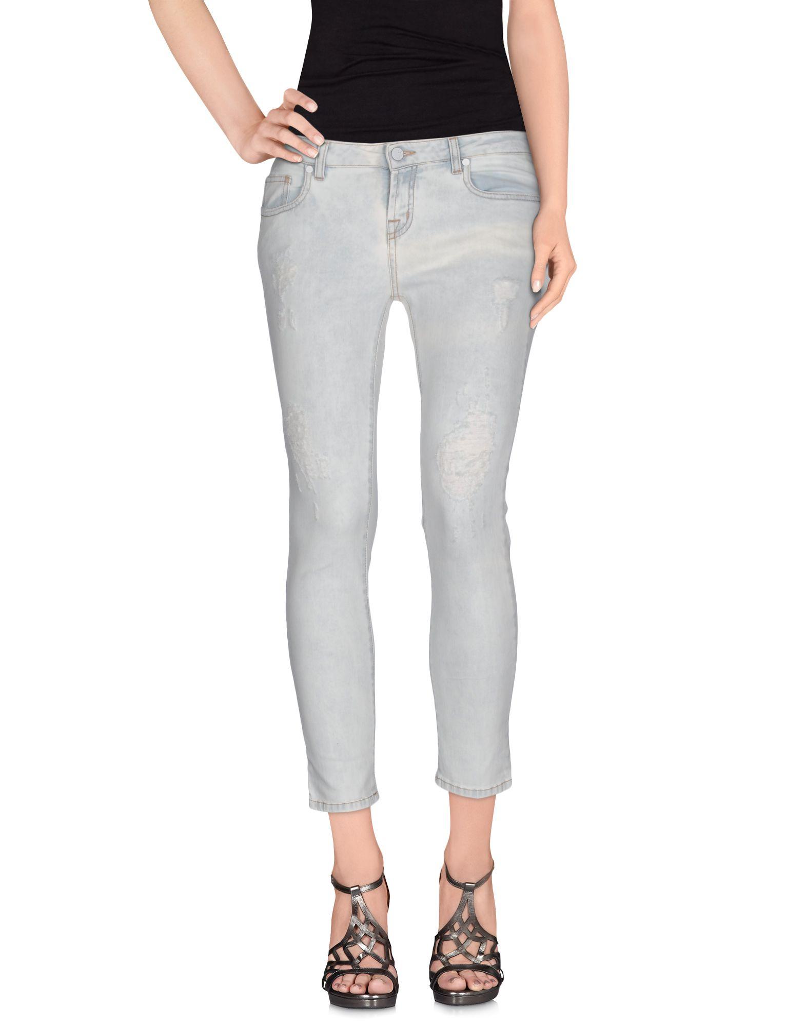 UP ★ JEANS Джинсовые брюки-капри start up джинсовые брюки капри