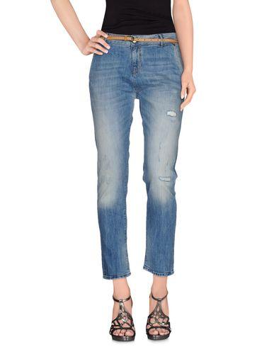 Фото - Джинсовые брюки от MANILA GRACE DENIM синего цвета