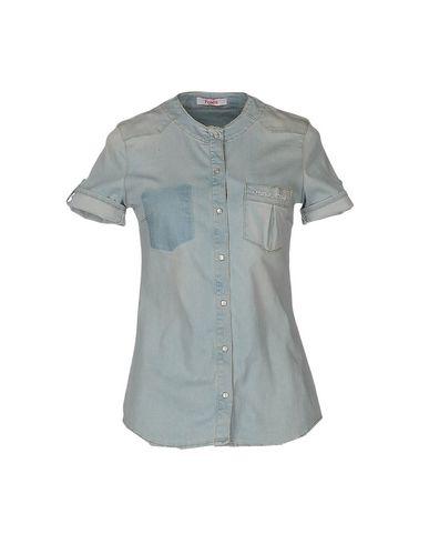 Джинсовая рубашка BLUGIRL FOLIES 42544142JA